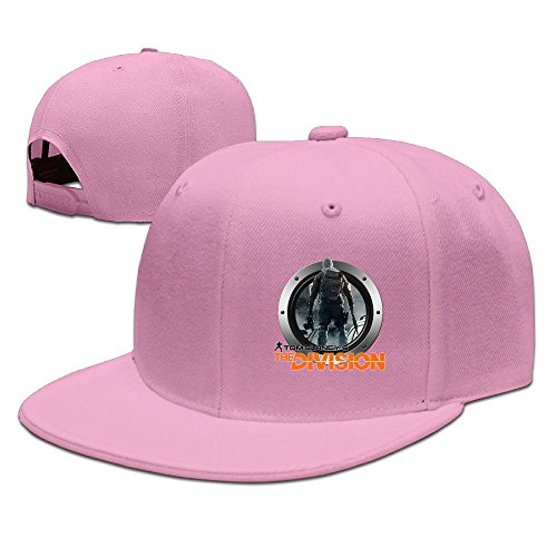 Cool Tom Clancy The Division Adjustable Baseball Hat (8 Colors) Pink -