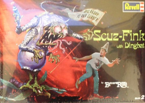 (Revell Ed '' Big Daddy '' Roth Scuz- Fink and Dingbat Plastic Model)