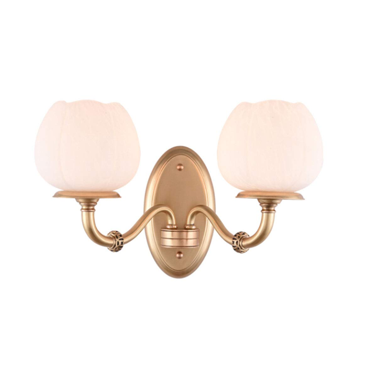 ウォールライト、豪華なベッドルームのベッドサイドウォールランプ、モダンな雰囲気のウォールランプ、豪華なウォールランプ(3灯オプション) (Color : White light) B07R4W3LMN White light