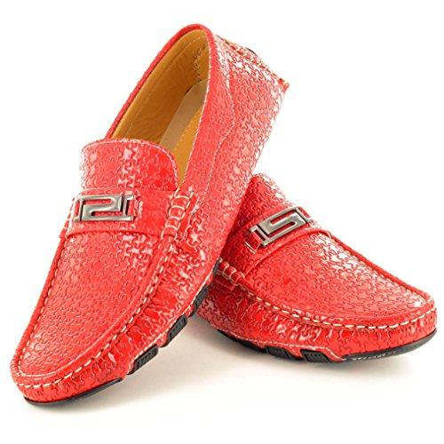 My Perfect Pair - Mocasines para hombre rojo - rojo