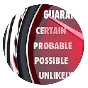 alfombrilla de ratón Garantizada seguridad de medición Probable Probable nivel de confianza - ronda - 20cm