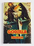 Godzilla Vs. Megalon Fridge Magnet
