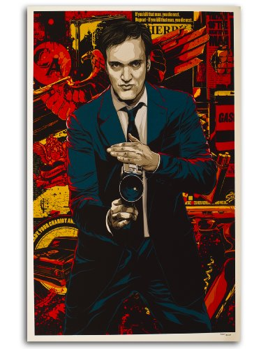 Quentin Tarantino - Limited Edition Wall Art
