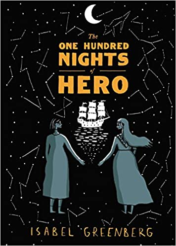 Image result for One Hundred Nights of Hero by Isabel Greenberg