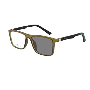 45350fd111 Image Unavailable. Image not available for. Color  Photochromic Transition  Myopia -Rx Hyperopia +Rx Prescription Eyeglasses Flexible TR90 Frame ...