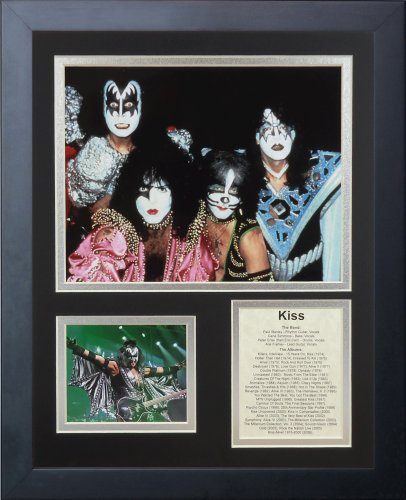 Legends Never Die KISS II Framed Photo Collage, 11x14-Inch by Legends Never Die