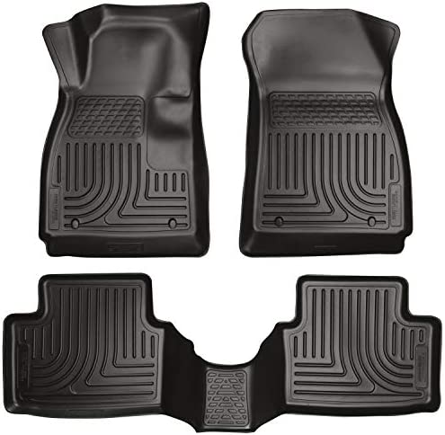 Husky Liners – 98291 Fits 2012-19 Chevrolet Sonic Weatherbeater Front & 2nd Seat Floor Mats Black