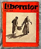 img - for The Liberator Magazine / July, 1919 / George Bellows cover art book / textbook / text book