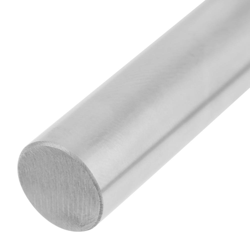 1pc Bearing Steel Cylinder Rail Linear Shaft Straight Round Rod Case Hardened Chrome Linear Motion Rods//Shafts//Guides 12mm Diameter 500mm