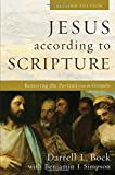 img - for Jesus according to Scripture: Restoring the Portrait from the Gospels book / textbook / text book