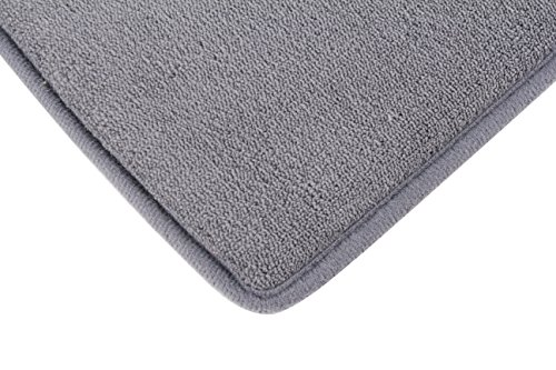 Fabbrica Home Ultra-Soft HD Memory Foam Runner (2 ft x 7.5 ft, Gray) by Fabbrica Home (Image #3)