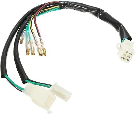 RENCALO Telar de arnés de cableado eléctrico para 50cc 90cc 110cc ...