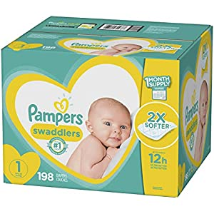 Diapers Size 6, 108 Count - Pampers Swaddlers Disposable