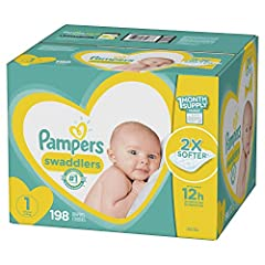 Wrap your baby in a diaper that's 2x softer** and the #1 Choice of Hospitals, Nurses and Parents.* Its comforting Heart Quilts liner provides breathability and comfort while pulling wetness and mess away from the skin. In addition, Air Channe...