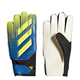 Adidas X Lite Soccer Gloves, Football Blue/Solar Yellow/Black, Size 7