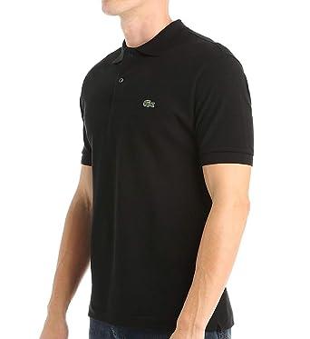 1c2dc40e9e1a Lacoste Men s Pique - Original Fit Polo Shirt - Black