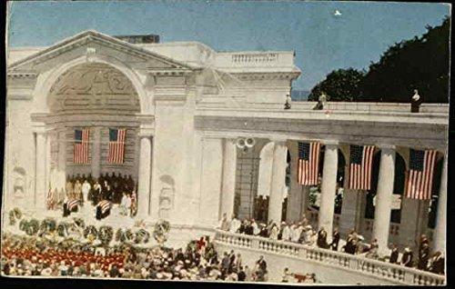 Memorial Amphitheater at Arlington National Cemetery Arlington, Virginia Original Vintage Postcard ()