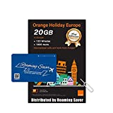 Orange Holiday Europe Prepaid SIM Card COMBO DEAL Official Authorized 20GB Internet Data