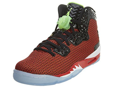 Jordan Spike Forty Big Kids Style, University Red/Ghst Grn/Black/White, 6.5