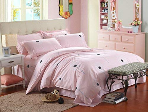 Bed Set 3pcs Bedding Set Duvet Cover Without Comforter Flat Sheet Pillowcase BC Twin Sheets Set 59