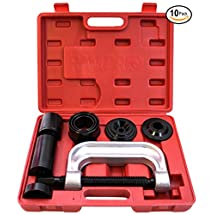 RamPro Ball Joint Press Service Repair Kit, Removal Tool Set, 2/4 Wheel Drive Vehicle Remover Installer Adapters - Also Used to Remove/Install Brake Anchor Pins and U-Joints (10 Pcs)