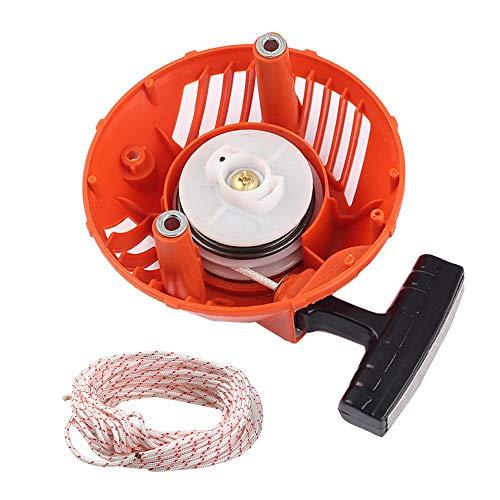 (Venseri 576368301 Recoil Starter with Rope 2-Meter Pull Cord for Husqvarna 128C 128CD 128LD 128LDX 128R 128RJ 128DJX String Trimmer Brushcutter # 2009-001N Higher)