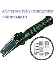 Plastic Antifreeze Battery Hand-held Refractometer P-RHA-200ATC