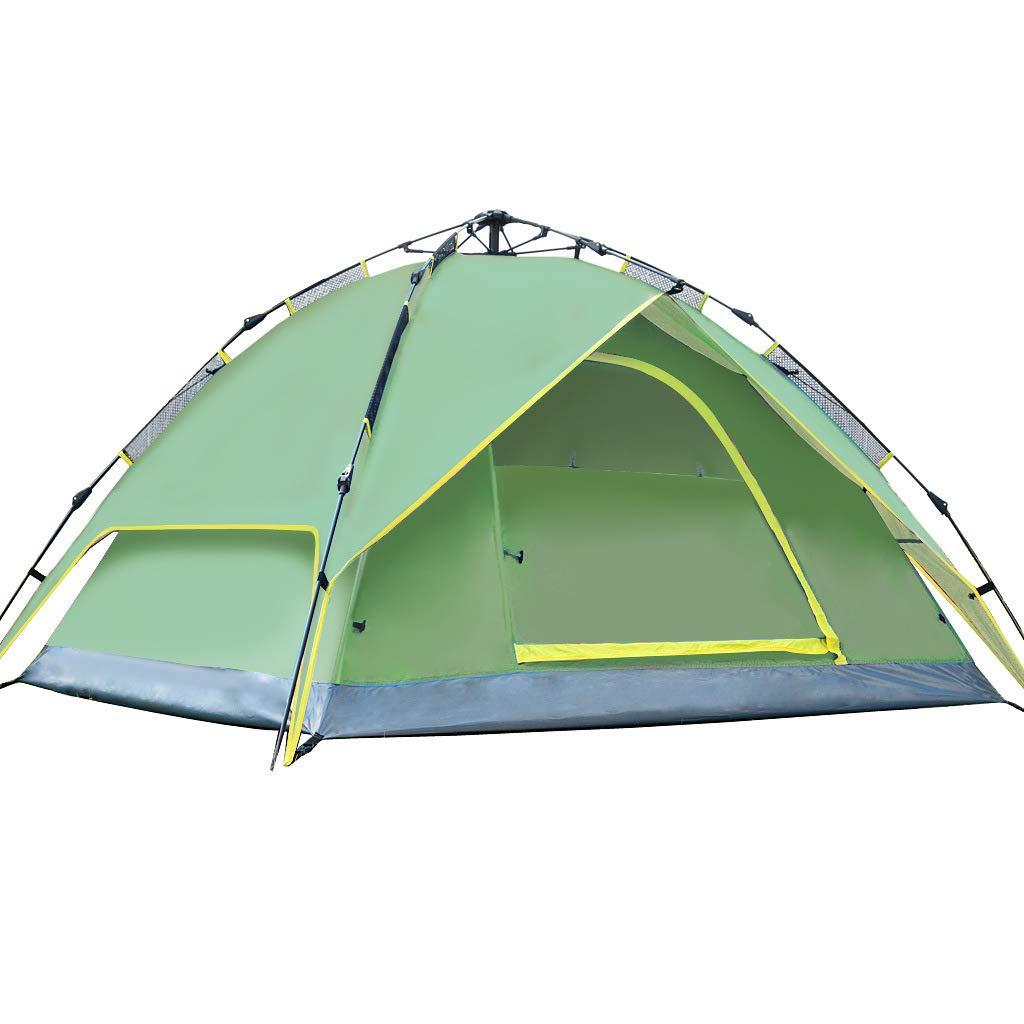 LYX Außenzelt Automatische Zelt 3-4 Personen Geschwindigkeit Offene Rechnung Camping Outdoor-Lieferungen Camping Reisen
