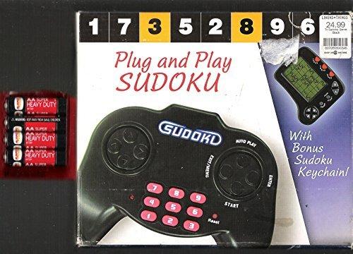 (Plug and Play Sudoku WITH BONUS SUDOKU KEYCHAIN)