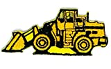 3 x 1.7 inches.Backhoe Rear Actor Back Actor Cab Tractor DIY Applique Embroidered Sew Iron on Patch