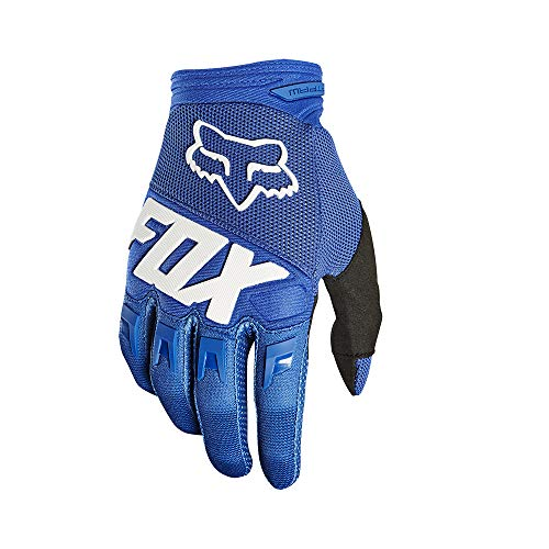 2019 Fox Racing Youth Dirtpaw Race Gloves-Blue-YL (Motorcycle Gloves Race)