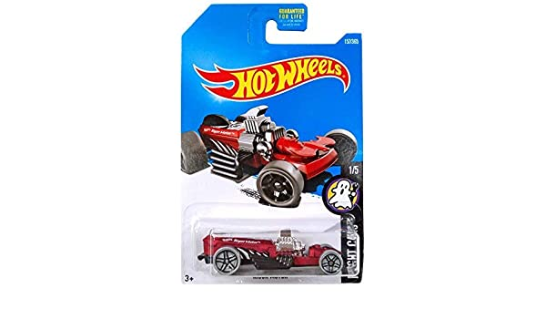 Hot Wheels 2017 Factory Sealed Set Exclusive Fright Cars Mattel Rigor Motor Red
