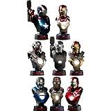 [Hottoys ? Bust: ''Iron Man 3'' 1/6Scale bust Deluxe Set [Iron Man ? mark 42 (battle damage version) bonus bust with]