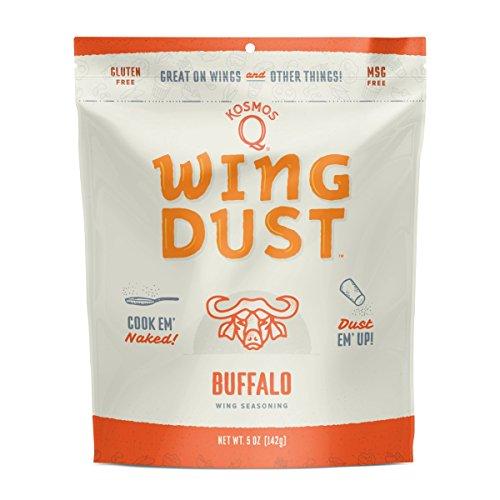 - Kosmos Q Buffalo Wing Dust   Chicken Wing Seasoning   Dry BBQ Rub Spice   5 oz. Bag