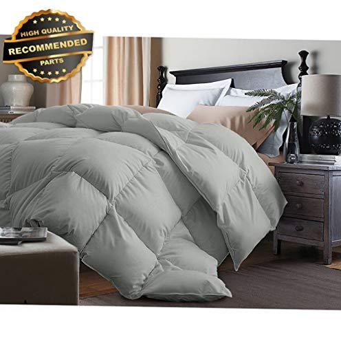 Gatton Premium New Polyester Microfiber Cover/Fill Down Altertive Comforter Silver Size | Style Collection ()