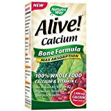 Nature's Way Alive! Calcium – 180 count, Health Supplements, Bone and Joint Gluten Free Dairy Free Yeast Free Wheat Free For Sale