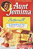Aunt Jemima Buttermilk Complete Pancake and Waffle Mix, 16 Ounce (Pack of 12)