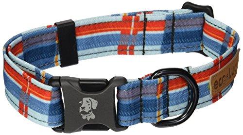 Dublin Dog Co Eco Lucks Hampton Dog Collar, Harbor, 12 by 20-Inch, Medium