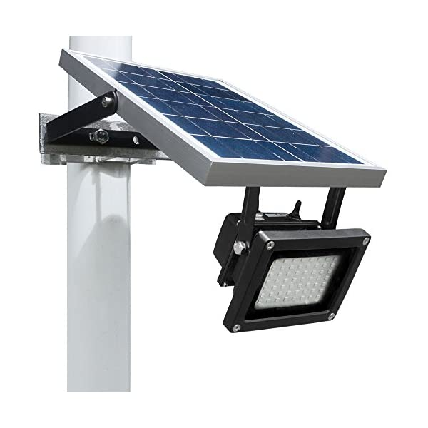 51FLDJLcA9L. SS600  - Solar Outdoor Flood Light by Wonderlux. Included Mounting Bracket for Easy Installation. Solar Lights Outdoor Use. No Electrical Connection. Eco-Friendly Lighting to Shed, Pool, Garage and more.