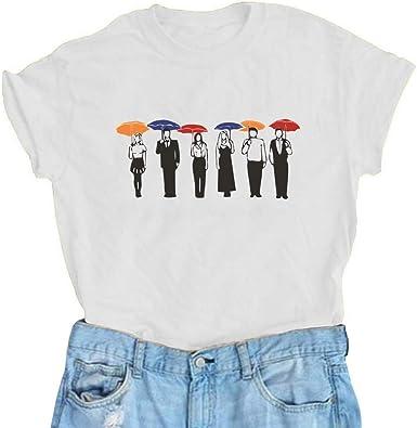 T-Shirt Blend Crew Neck T Shirt Girls Tops Bureau of Indian Affairs Funny