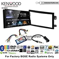Volunteer Audio Kenwood DDX9904S Double Din Radio Install Kit with Apple CarPlay Android Auto Bluetooth Fits 2003-2005 Nissan 350Z (With Bose)