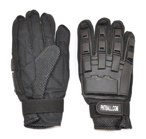3Skull Paintball Full Finger Leather Gloves - XL