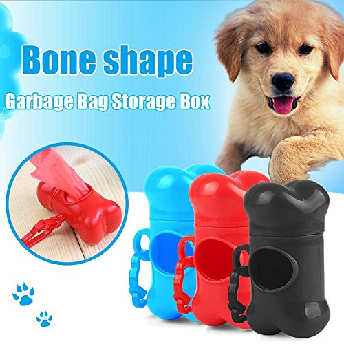 ZHUOTOP Caja dispensadora de hueso para mascotas