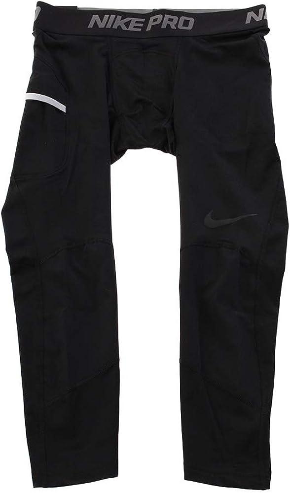 Hombre Nike M NP Dry Tght 3qt Bball Pants de Baloncesto