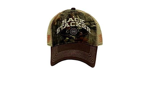 NEW Farm Boy Rack Stacker Mossy Oak Adjustable Men/'s Cap With Score Keep Bill