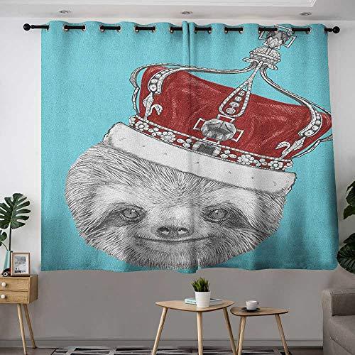 Metallic Lace Imperial Crown - Zodel Doorway Curtains Sloth Cute Hand