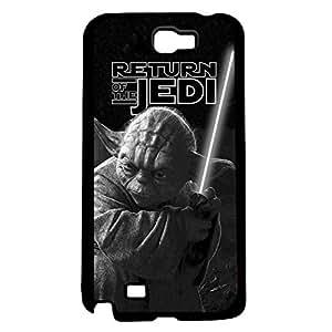 Black and White Retro Yoda Jedi Master Art Hard Snap on Phone Case (Note 2 II)