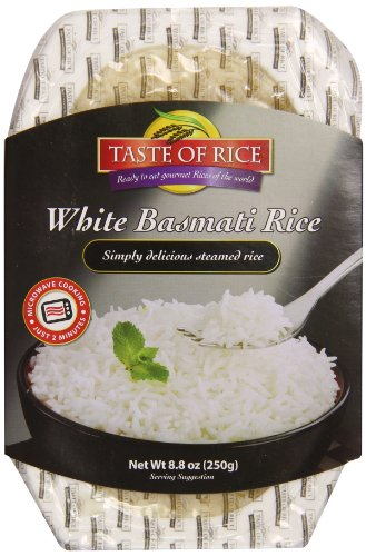 Taste of Rice White Basmati Rice, 8.8 Ounce (Pack of 6) by Taste Of Rice