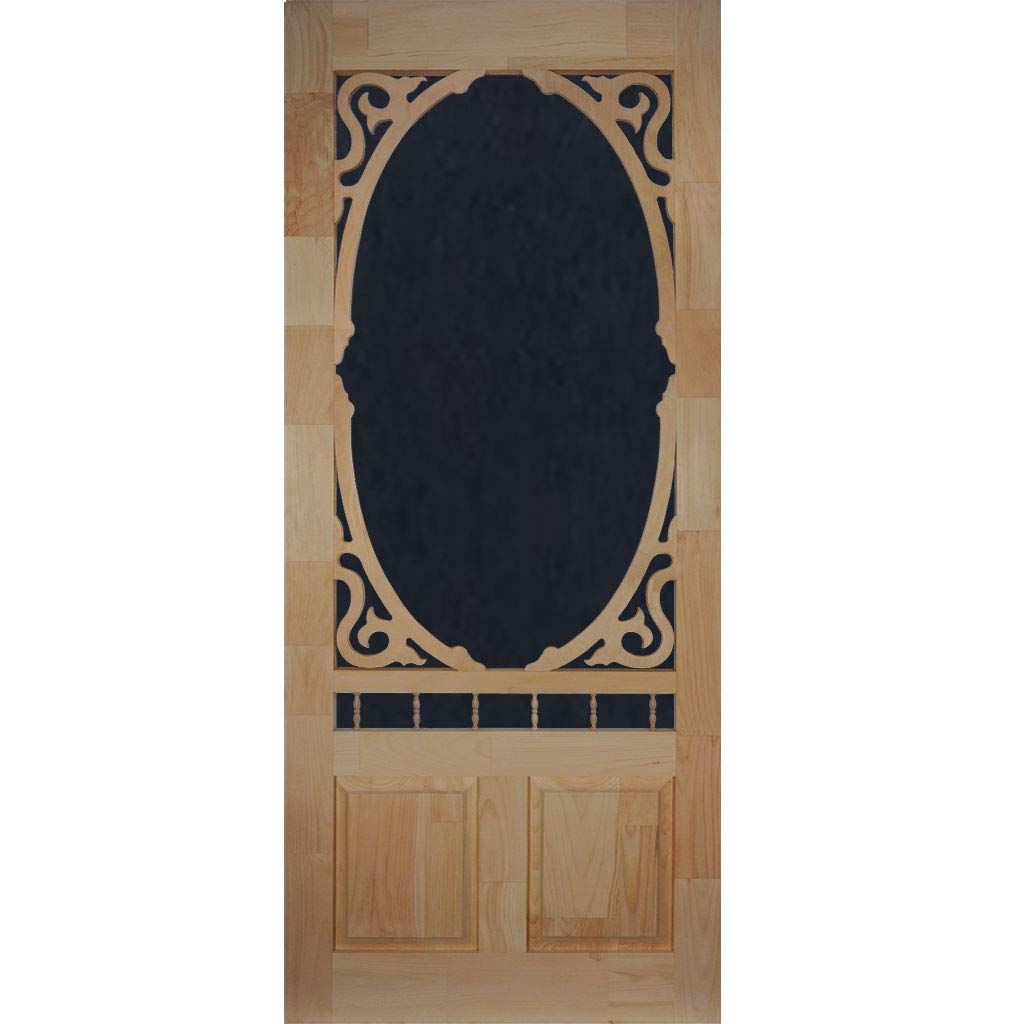 Screen Door Wood Clarington 80 in. x 36 in. by Kimberly Bay