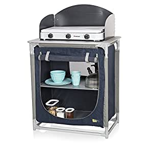 CAMPART Travel KI-0752 - Cocina de camping, color azul